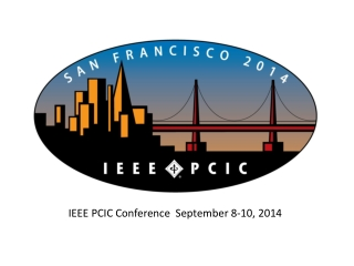 IEEE PCIC Conference  September 8-10, 2014