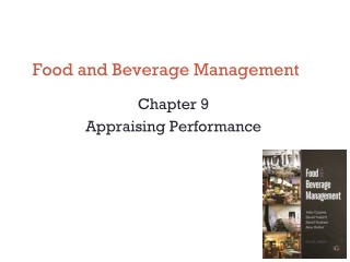 Chapter 9  Calculating Actual Food and Beverage Costs