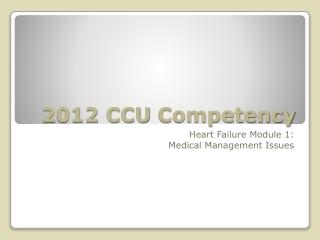 Optimal Medical Management of CAD