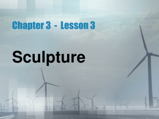 Chapter 3  -  Lesson 3