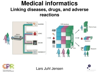 Medical informatics Linking diseases, drugs, and adverse reactions