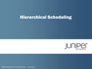 Hierarchical Scheduling