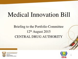 Medical Innovation Bill