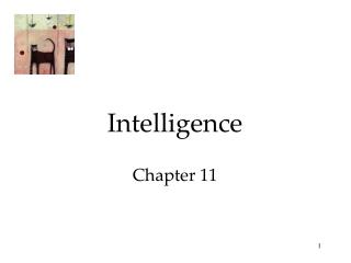 Intelligence Chapter 11