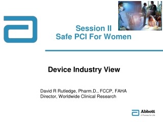 Session II Safe PCI For Women