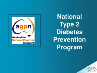 National Type 2 Diabetes Prevention Program