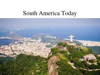 South America Today