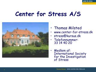 Center for Stress A/S