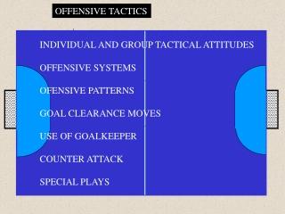 OFFENSIVE TACTICS