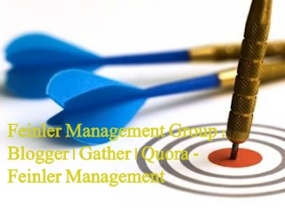 Feinler Management Group Blogger Gather Quora Feinler Manage