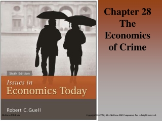 Chapter 28 The Economics of Crime
