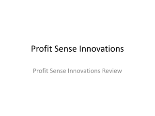 Profit Sense Innovations