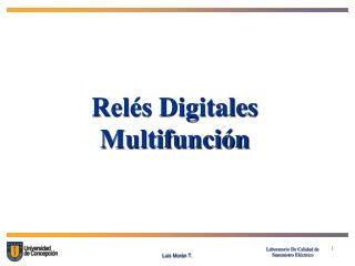 Relés Digitales Multifunción
