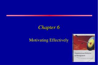 Motivating Effectively