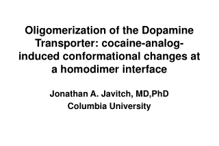 The Dopamine Transporter (DAT) is responsible for  re-uptake of dopamine from the synaptic cleft