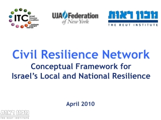 Civil Resilience Network Conceptual Framework for Israel's Local and National Resilience