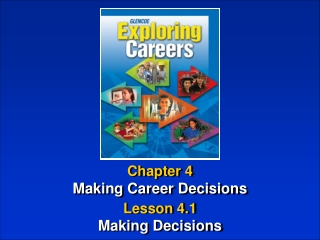 Chapter 4 Making Career Decisions