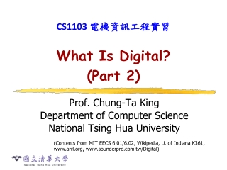 What Is Digital? (Part 2)