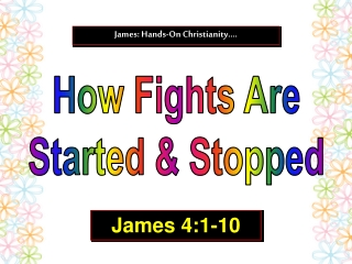 How Fights Are Started & Stopped