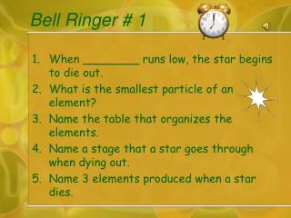 Bell Ringer # 1