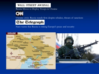 Russia Moves to Deploy Troops in Ukraine