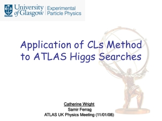 Application of CLs Method to ATLAS Higgs Searches