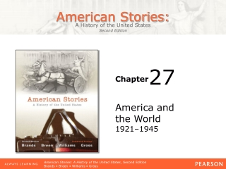 America and  the World 1921–1945