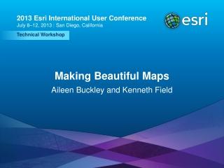 Making Beautiful Maps