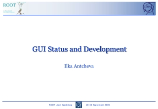 GUI Status and Development
