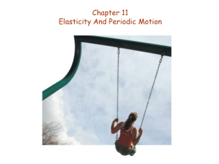 Chapter 11 Elasticity And Periodic Motion