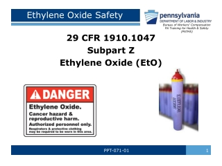 Ethylene Oxide Safety