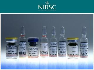 Dr Sjoerd Rijpkema   Division of Bacteriology NIBSC