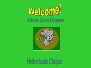African Union Diaspora