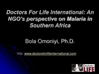 http:  doctorsforlifeinternational