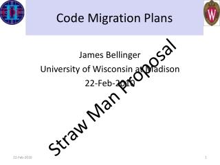 Code Migration Plans