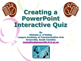 Creating a PowerPoint Interactive Quiz