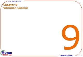 Chapter 9 Vibration Control