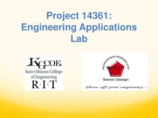 Project 14361:  Engineering Applications Lab