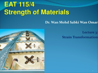 EAT 115/4  Strength of Materials