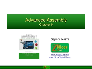 Advanced Assembly Chapter 6
