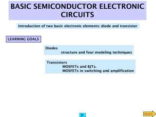 BASIC SEMICONDUCTOR ELECTRONIC CIRCUITS