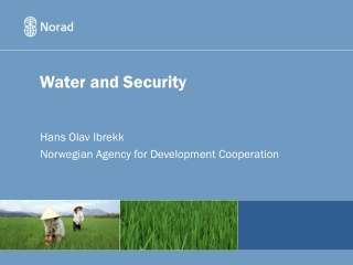 Water and Security