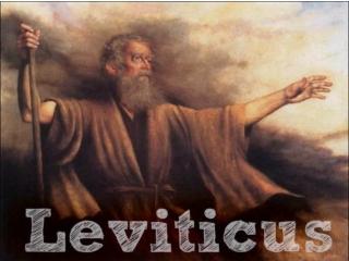 Leviticus 8 – 15