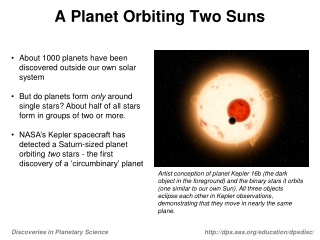A Planet Orbiting Two Suns