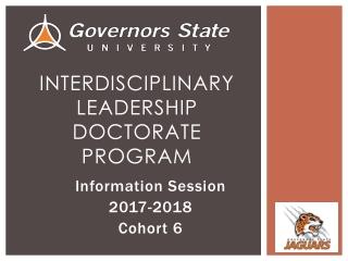 Interdisciplinary Leadership Doctorate Program