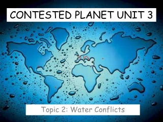 CONTESTED PLANET UNIT 3