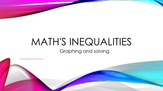 Math's Inequalities