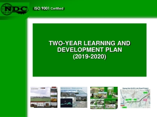 TWO-YEAR LEARNING AND DEVELOPMENT PLAN  (2019-2020)