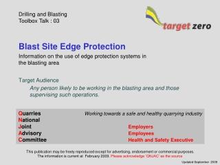 Blast Site Edge Protection