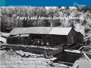 Fairy Lake Annual General Meeting